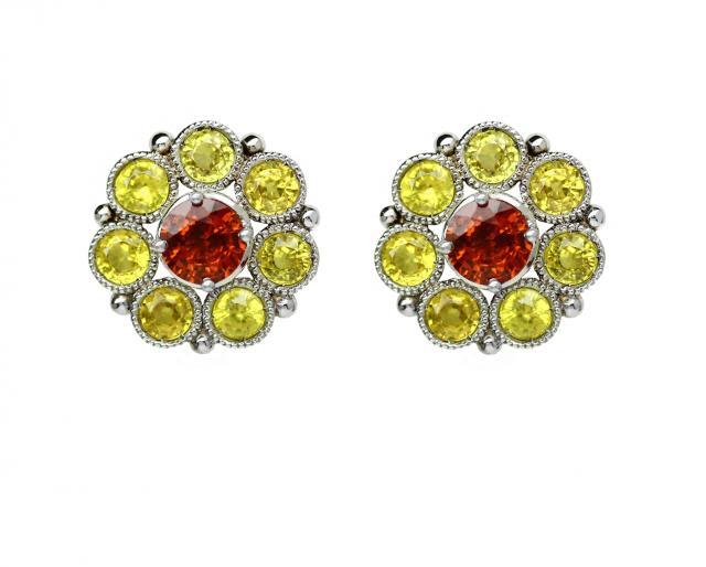 yellow sapphire flower tops