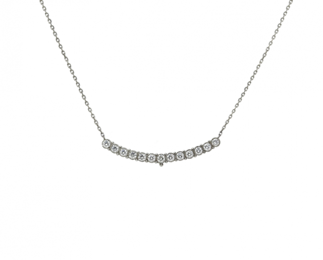Dimond Scoop Necklace