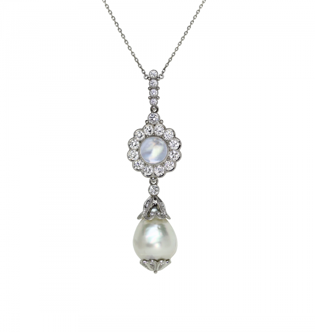 Moonstone Kremlin Necklace