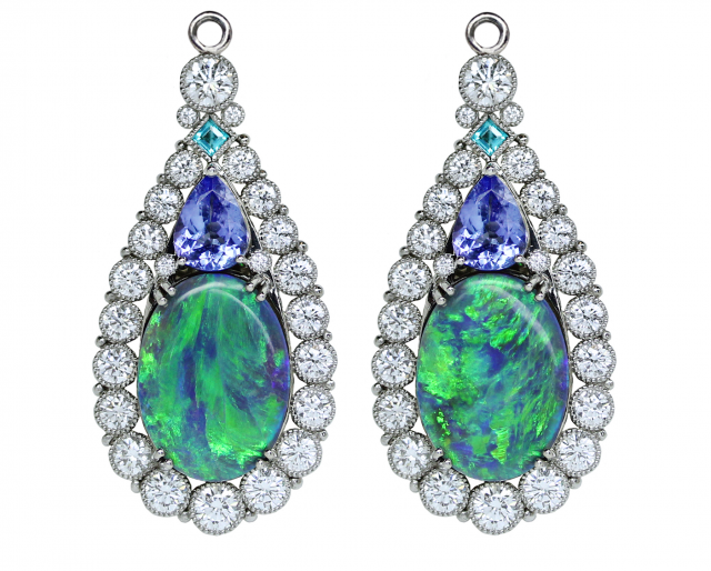 Opal and Tanzanite Halo Enhancers copy