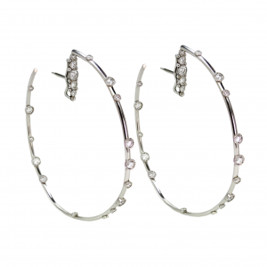Platinum Hoops
