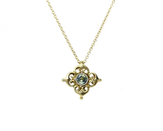 Osbec lace necklace
