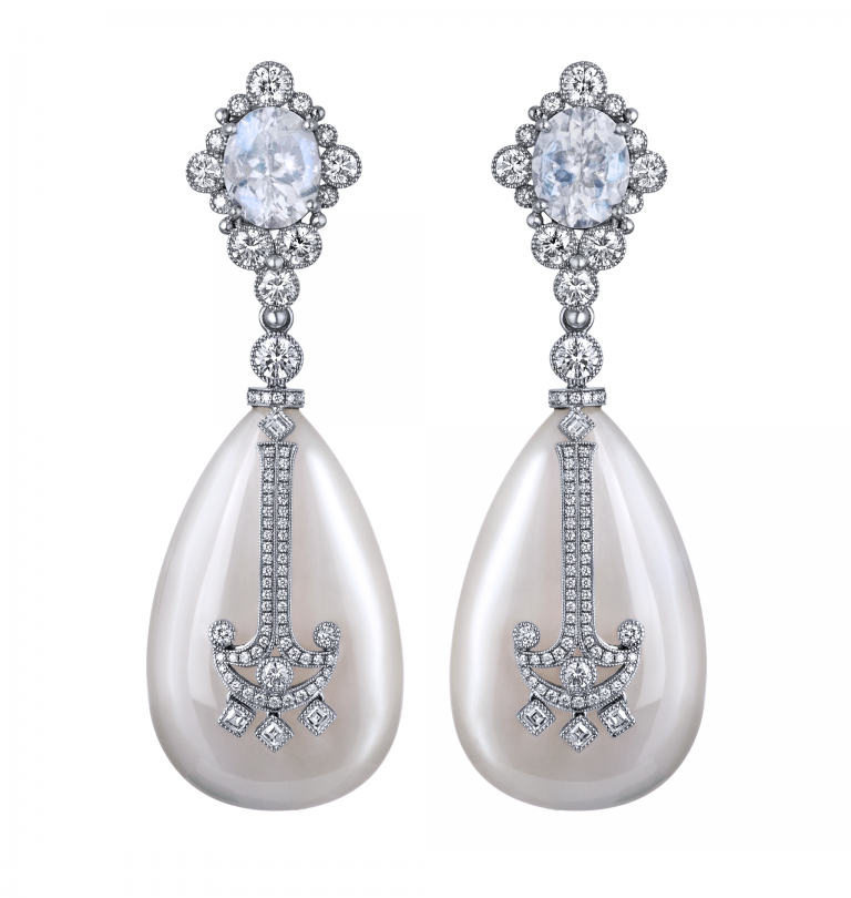 Anchored Moonstones