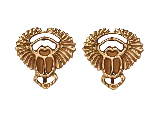 Rose Gold Scarab Tops