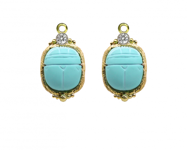 Turquoise Scarab Bellies